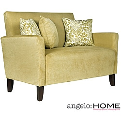 angelo:HOME Sutton  Lotus Green Loveseat