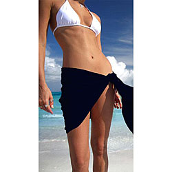 Women&#39;s Solid Mini Sarong (Indonesia)