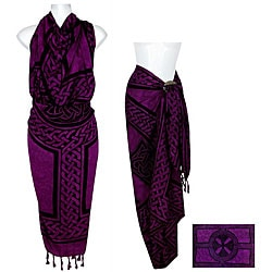 Celtic Cross and Circle Sarong (Indonesia)
