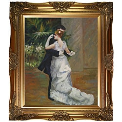 Renoir 'Dance in the City' Canvas Art