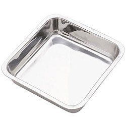 Grade 18/8 Stainless Steel 8.5-inch Square Cake Pans (Set of 2)