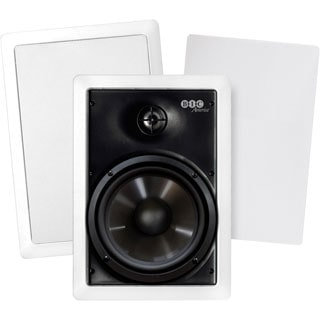 BIC America M-PRO6W 150 W RMS Speaker - 2-way - 2 Pack - White