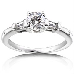 14k Gold 3/4ct TDW Round Diamond Engagement Ring (H-I, I1-I2)