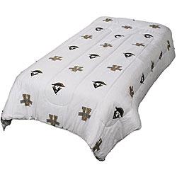 Vanderbilt White Twin-size Comforter Set