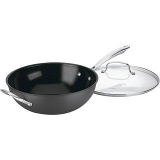 Cuisinart Green Gourmet 12-inch Nonstick Stir Fry Pan