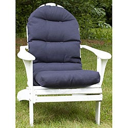 Adirondack Outdoor Blue Chair Cushion