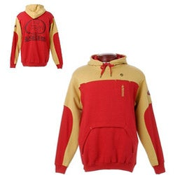 NFL San Francisco 49ers Fleece Hoodie - Overstock Shopping - Great
