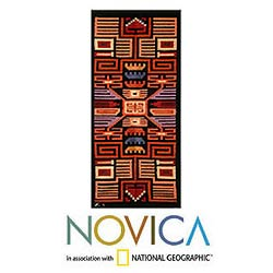 Wool 'Nazca' Tapestry (Peru)