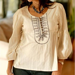 Cotton 'Tribal Legacy' Tunic (India)
