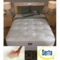 Serta Delphina Cushion Firm Queen-size Mattress Set