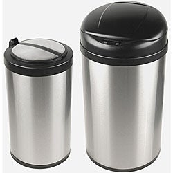 Nine Stars Auto-open Motion Sensor Infrared Trash Can Combo Pack