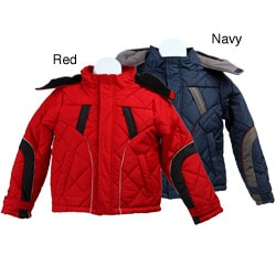 iXtreme Boy's Hooded Quilted Puffer Coat