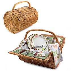 Picnic Time Barrel-Botannica Picnic Basket