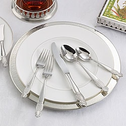 Ginkgo Pineapple Stainless Steel 5-piece Place Setting