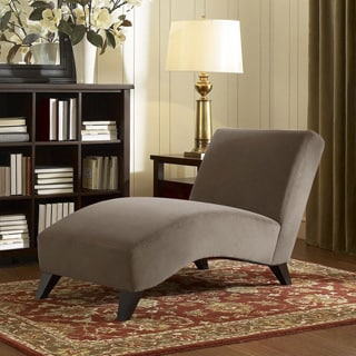Chaise lounges living room chairs overstock shopping for Audrey bella chaise