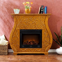 Martin Golden Oak Fireplace
