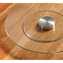 Sarah Peyton Tempered Glass Lazy Susan