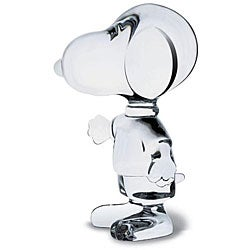 Baccarat Friendly Snoopy Accent Piece