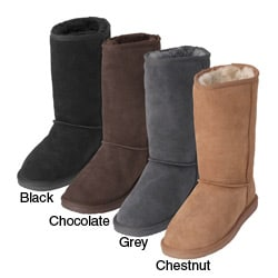Brumby Shearling Sheepskin Flat Sole Comfort Boots