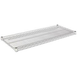 Alera 48x18 Industrial Extra Wire Shelving (Set of 2)