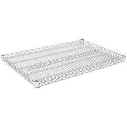 Alera 36x24 Silver Industrial Extra Wire Shelving (Set of 2)