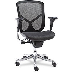 Alera EQ Series Ergonomic Mid Back Mesh Chair
