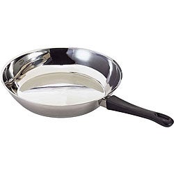 Gourmet Chef Stainless Steel Fry Pan