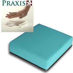 Praxis Standard Size Memory Foam Mobility Cushion