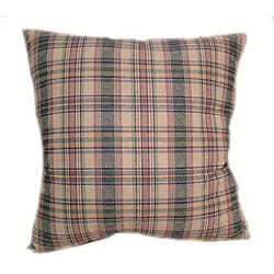 Shantung 16-inch Multi Plaid Throw Pillows (Set of 2)