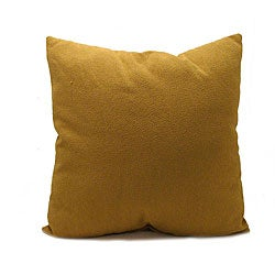 Gold Floor Pillows : Grovepark 24-inch Gold Floor Pillow - 12234109 - Overstock.com Shopping - Great Deals on Throw ...