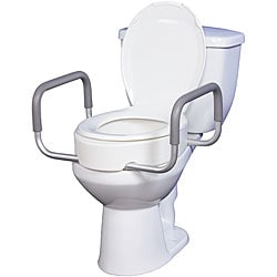 Drive Premium Seat Rizer for Standard Toilet with Removable Arms