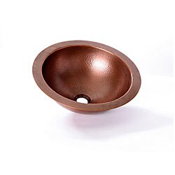 Com shopping great deals on premier copper products bathroom sinks - Copper Hammered Vanity Lavatory Bowl Sink 12235213