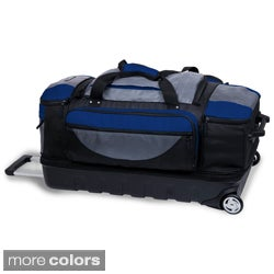 J World 'Moose' Super Light 31-inch Rolling Upright Duffel Bag