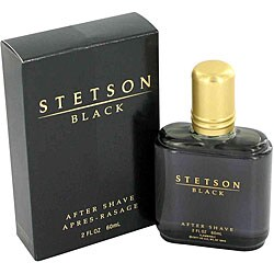 Stetson Black Men's 2-ounce Aftershave