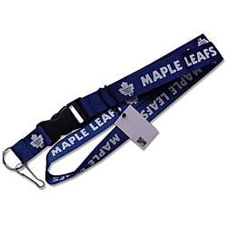 Toronto Maple Leafs NHL Clip Lanyard Keychain ID Holder