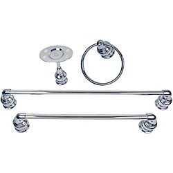 Moen Chrome Four-piece Bath Accessory Kit