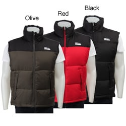 First Down Men's Zip-up Down Vest