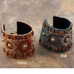 Metal Matisse Beaded Bracelet (India)