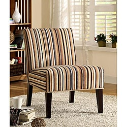 ETHAN HOME Decor Striped Print Lounge Chair