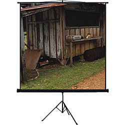 Mustang Tripod 80-inch 4:3 Matte White Projector Screen