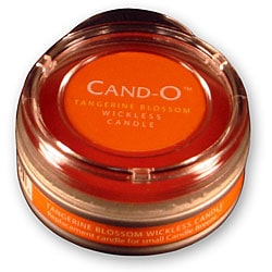 Cand-O Tangerine Blossom Small Wickless Candle