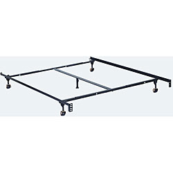 Adjustable Twin/Full/ Queen-size Metal Bed Frame