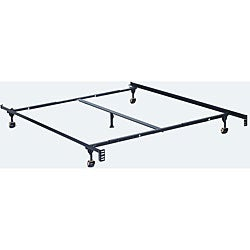 Furniture of America Adjustable Twin/Full/ Queen-size Metal Bed Frame