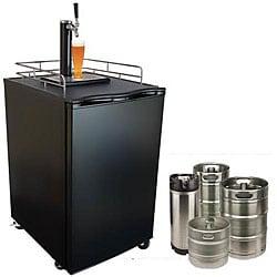 KeggerMeister Beer Refrigerator/ Keg Dispenser