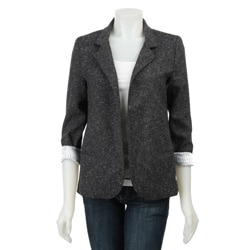Necessary Objects Junior's 'Boyfriend' Tweed Blazer