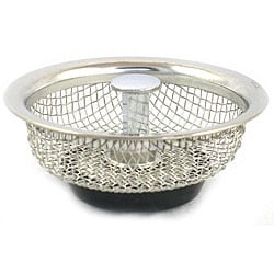 Stainless Steel 3.25-inch Mesh Sink Stopper (Pack of 2)