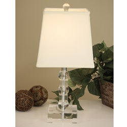 Crystal Square Table Lamp