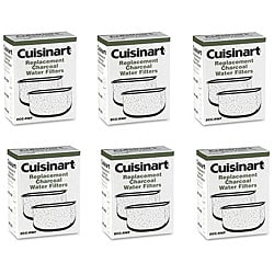 Cuisinart DCC-RWF Charcoal Water Filters (Pack of 12)