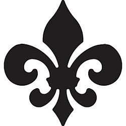 Paper Shapers 'Fleur de Lis' Medium Paper Punch