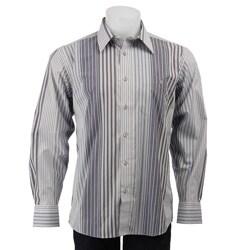Cotton Reel Men's Exploded Stripe Woven Shirt